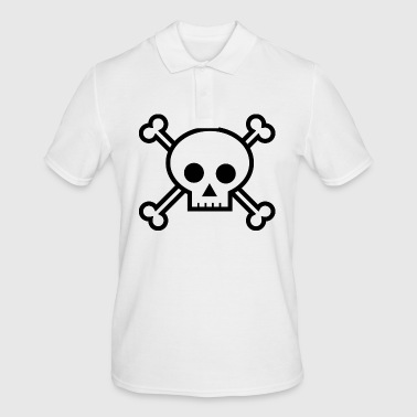 Skull Pirate Flag! - Men's Polo Shirt