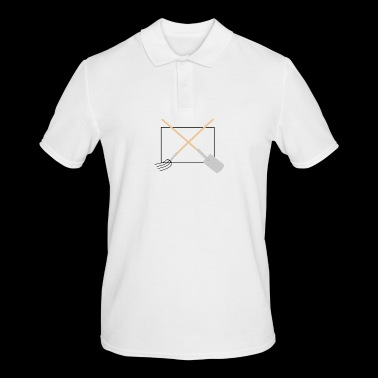 Pitchfork and spade - Men's Polo Shirt