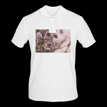 Pink roses - Men's Polo Shirt