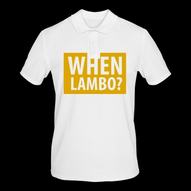 QUAND LAMBO 04 - Polo Homme