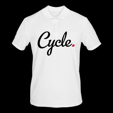 Cycle - Men's Polo Shirt
