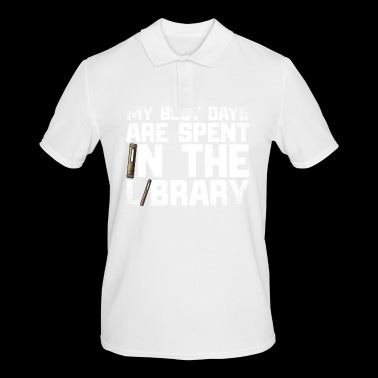 15 best days library - Men's Polo Shirt
