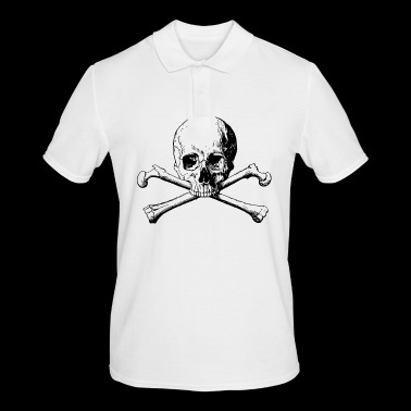 Skull and bones - Men's Polo Shirt