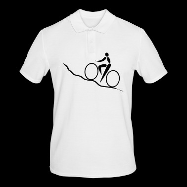 cycling Bike bike ride uphill - Men's Polo Shirt