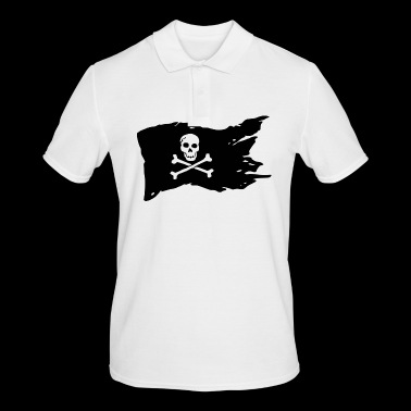 Pirate Flag Skull Pirate - Men's Polo Shirt