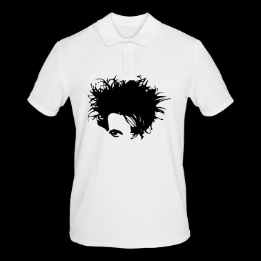 Gothic New Wave Head - Herre poloshirt