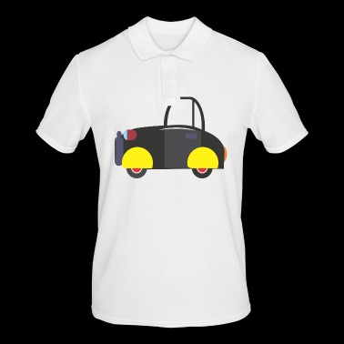 sports car - Men's Polo Shirt