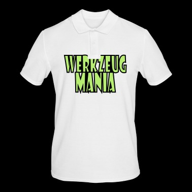 Tool Mania-letters - Mannen poloshirt