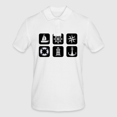 nautical - Men's Polo Shirt