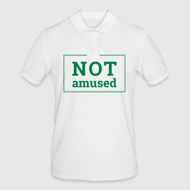 Not Amused - Men's Polo Shirt