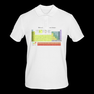 Periodic Table of Chemical Elements - Men's Polo Shirt