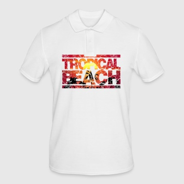 Tropical Beach Holiday Holiday Season Holiday Palms - Men's Polo Shirt