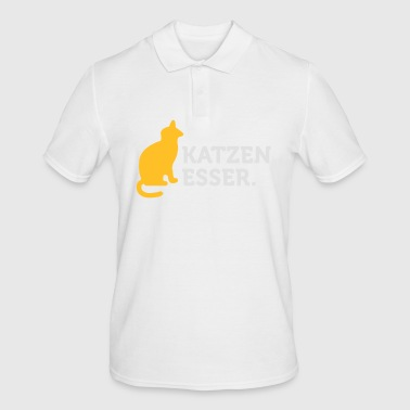 Macho Quotes: I Eat Cats! - Men's Polo Shirt