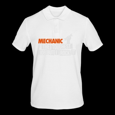 Funny Mechanic the toughest job - Men's Polo Shirt