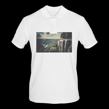 Castle view - Men's Polo Shirt