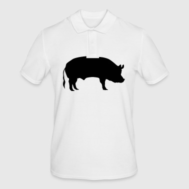 Pig / sow - Men's Polo Shirt