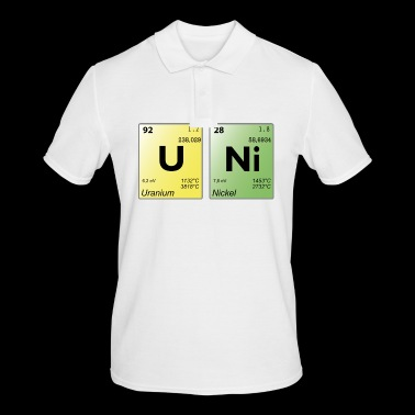 UNI periodic table - Men's Polo Shirt