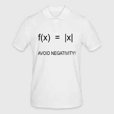 Positive attitude Confident math gift - Men's Polo Shirt