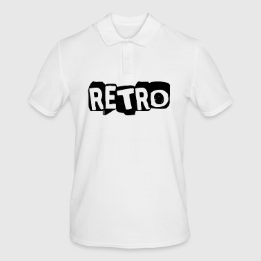 retro - Poloskjorte for menn