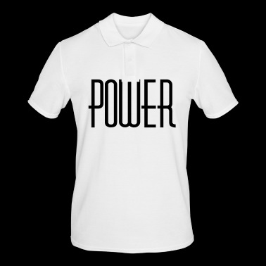 power - Men's Polo Shirt