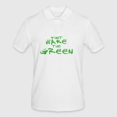 Do not wake the green inside me - hulk - Men's Polo Shirt