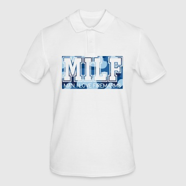 Military / Soldiers: MILF - Man, I Love Firearms - Men's Polo Shirt