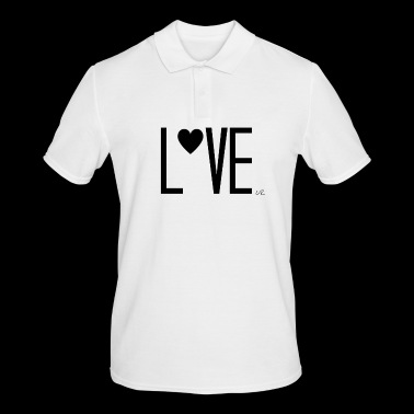 Lettering - Men's Polo Shirt