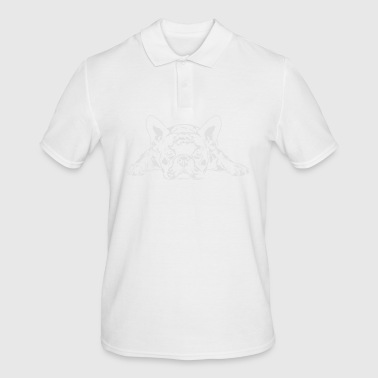 French Bulldog lying - French Bulldog - Men's Polo Shirt