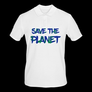 Save the Planet - Save the Earth - Men's Polo Shirt
