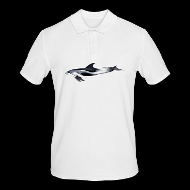 White-beaked dolphin - White beaked dolphin - Men's Polo Shirt