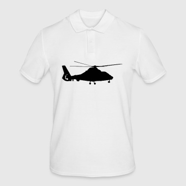 Aircraft, helicopter - Men's Polo Shirt