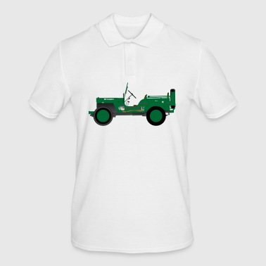 Army vehicle - Men's Polo Shirt