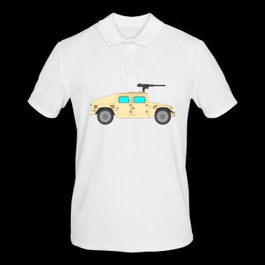 Military vehicle - Men's Polo Shirt