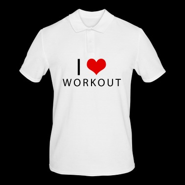 workout - Mannen poloshirt