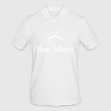 Uphill for more! - Men's Polo Shirt