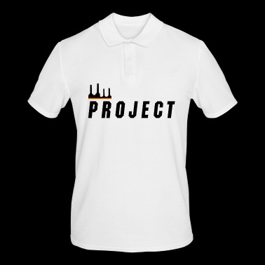 The Project, black - Men's Polo Shirt