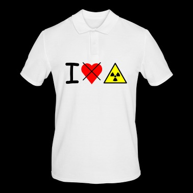 I dont love nuclear power - Men's Polo Shirt