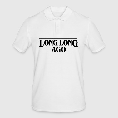 LONG LONG AGO Vector - Men's Polo Shirt