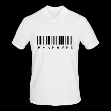 reserved - Men's Polo Shirt
