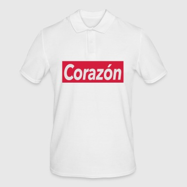 Corazon - heart - Men's Polo Shirt