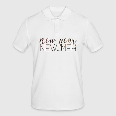 New Year's Eve / New Year. New ... Meh. - Men's Polo Shirt