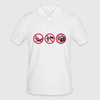 Selfies warning - Men's Polo Shirt