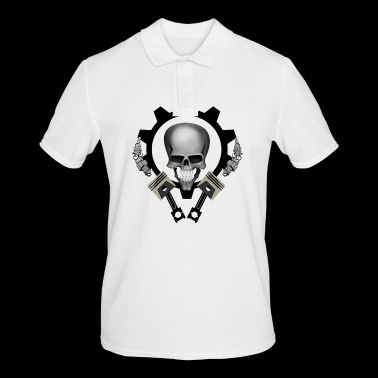 Piston Skull - Men's Polo Shirt