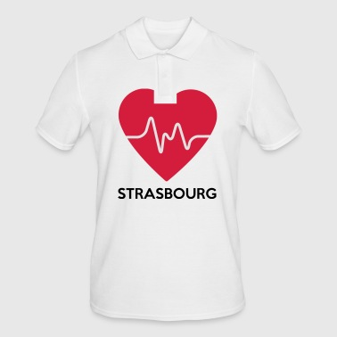 heart Strasbourg - Men's Polo Shirt