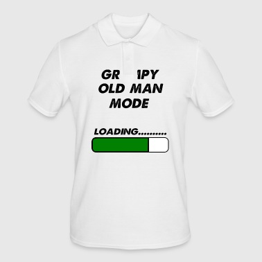 grumpy old man mode - Men's Polo Shirt