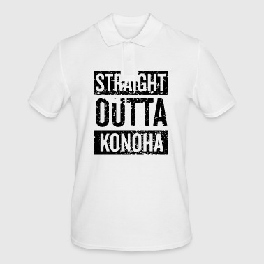 Straight Outta Konoha - Men's Polo Shirt