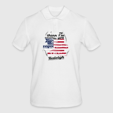 THERAPY HOLIDAY AMERICA USA TRAVEL Raleigh - Men's Polo Shirt
