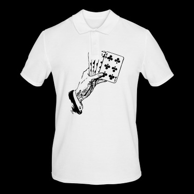 Playing Cards Cards Poker Gift - Men's Polo Shirt