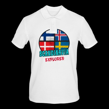 Scandinavia Explorer / Scandinavia / Gift - Men's Polo Shirt