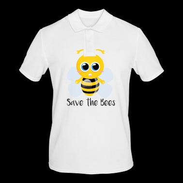Save the Bee - Save our bees - Men's Polo Shirt